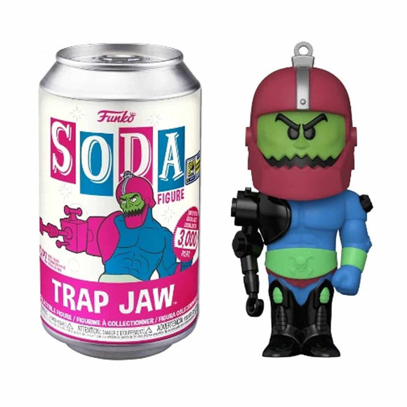 Trap Jaw From He Man Funko Soda figure exclusive