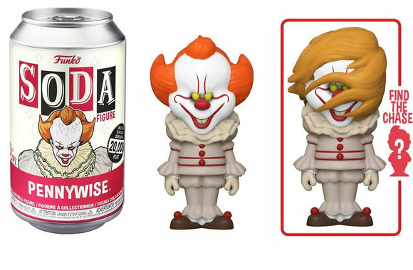Pennywise IT Funko soda figure