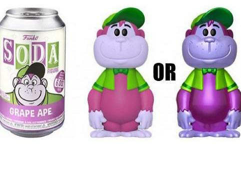 Grape Ape Funko Soda Funko Figure