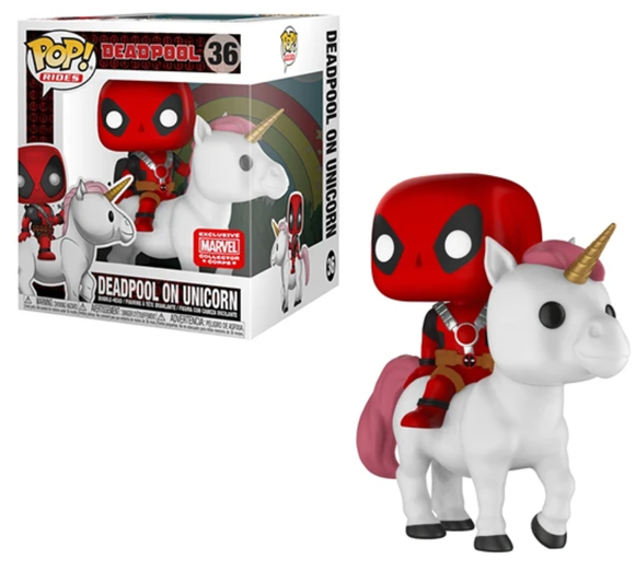 Deadpool on Unicorn Collector Corps Exclusive Funko Pop