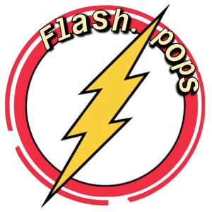 Sticker for Flash Pops Social Media Account
