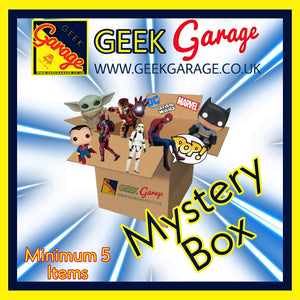 The Geek Garage MEGA Mystery Box Of Goodies