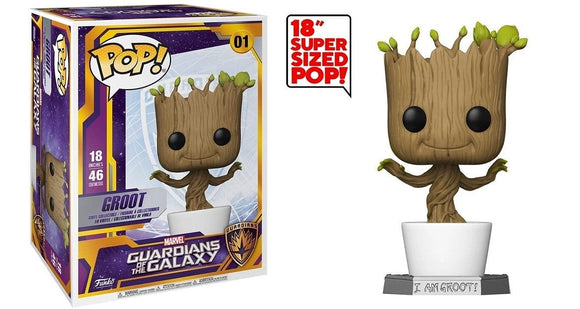 Dancing Groot Giant 18 inch Funko Pop