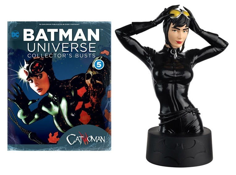 Catwoman Collector Bust And Magazine DC Universe