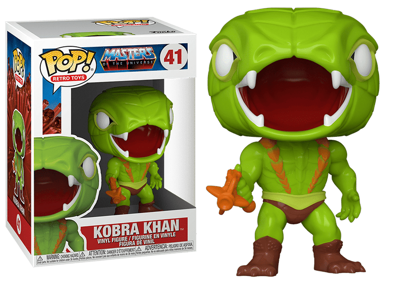 Kobra Khan Masters of the Universe He Man Funko Pop