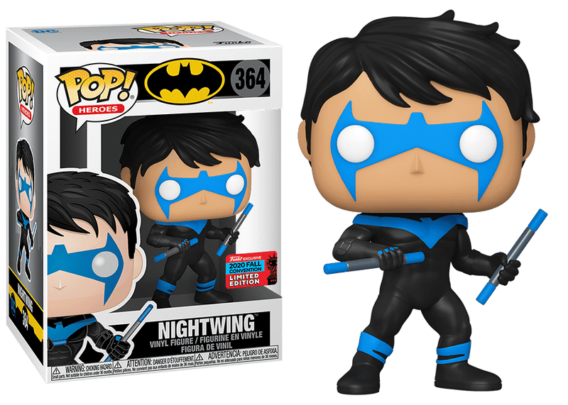 Nightwing Convention exclusive funko pop
