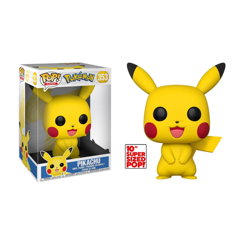 Pikachu Giant 10 inch Pokemon Funko Pop