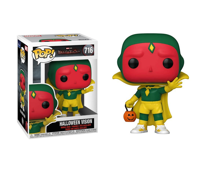 Wandervision Halloween Vision Funko Pop
