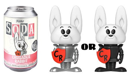 Funko Soda Can Figure Crusader Rabbit