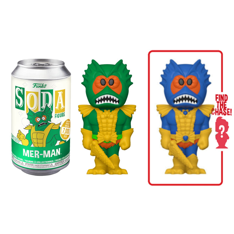 Merman From He Man Masters of the universe Funko Soda