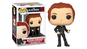 Natasha Romanoff Black Widow Funko Pop Marvel