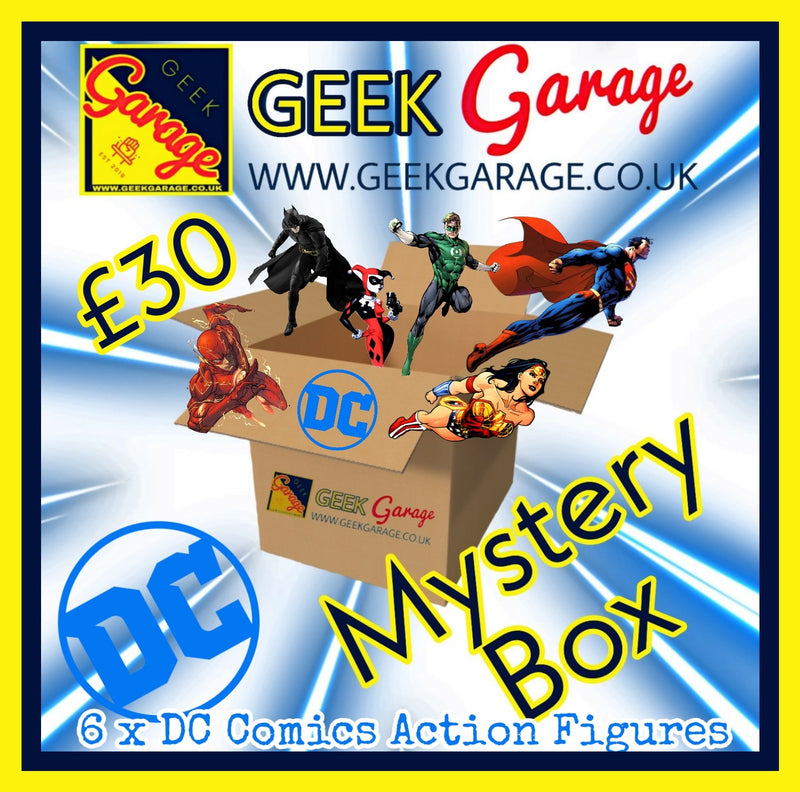DC Comics Action Figure Mystery Box