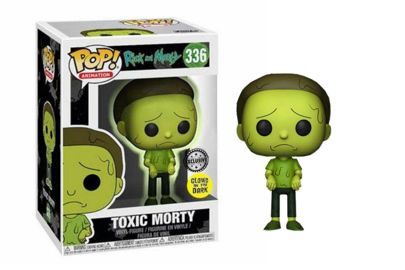 Toxic Morty Glow in the Dark Special Edition Funko Pop