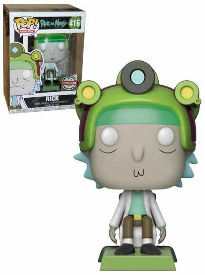Rick Special Edition Funko Pop 416 from Rick amd Morty