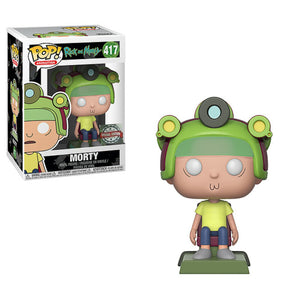Morty Special Edition Funko Pop 417 from Rick amd Morty