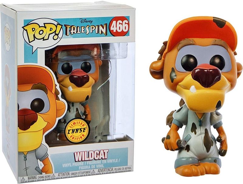 Talespin Disney Wildcat CHASE Funko pop 466