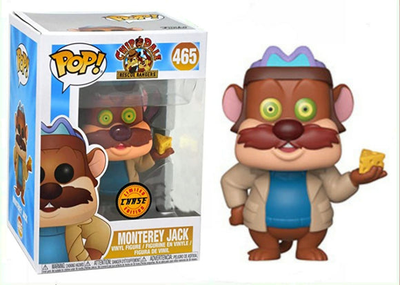 Montery Jack Chip and Dale CHASE Funko pop 465