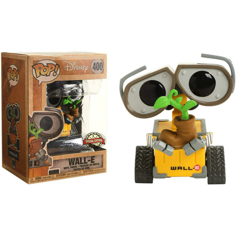 WallE and Eve Twin Funko Pops Earth Day Special Edition