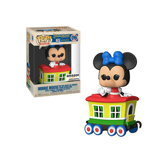 Minnie Mouse on Circus Train Funko Pop Disneyland 65th anniversary Amazon Exclusive edition Funko Pop