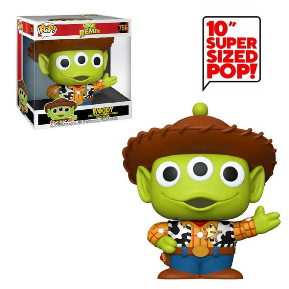 Alien Remix Giant 10 inch Woody Funko Pop