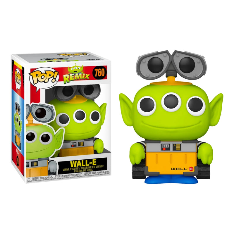Wall E Alien Remix Funko Pop