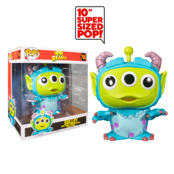 Sulley Alien Remix 10 inch Giant funko pop
