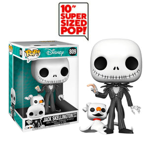 Jack Skellington 10 inch giant funko pop from nightmare before Christmas