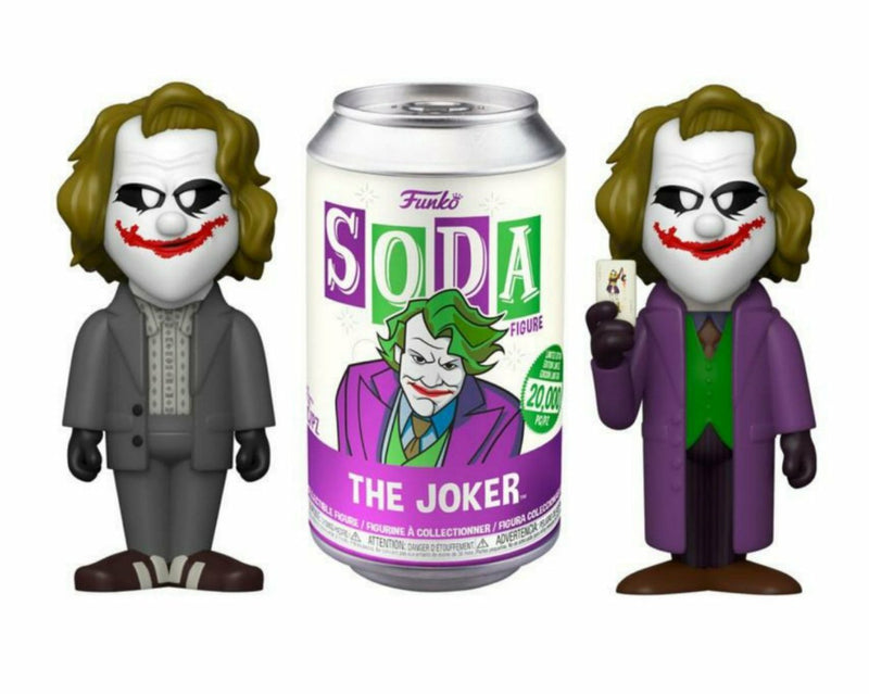 Heath Ledger Joker Funko Soda Figure