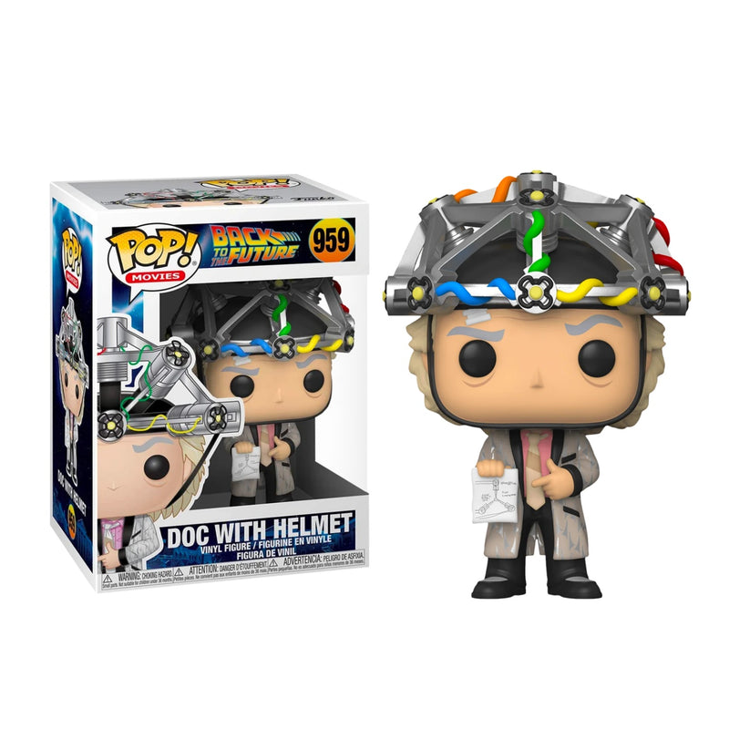 Doc With Helmet  Back to the Future funko pop
