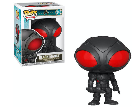 Black Manta Aquaman Movie Funko Pop