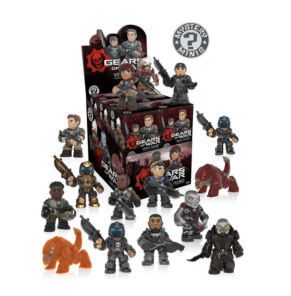 Gears of War Funko Pop Mystery Minis case of 12 sealed