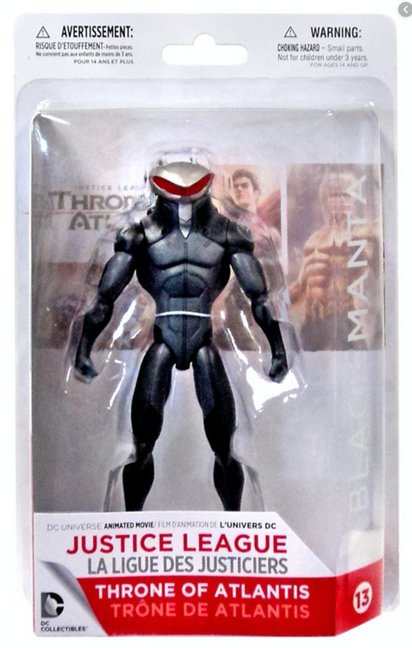 Black Manta Action Figure from Thrones of Atlantis