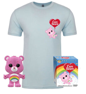 Care Bears Cheer Bear Funko Pop and T Shirt Set