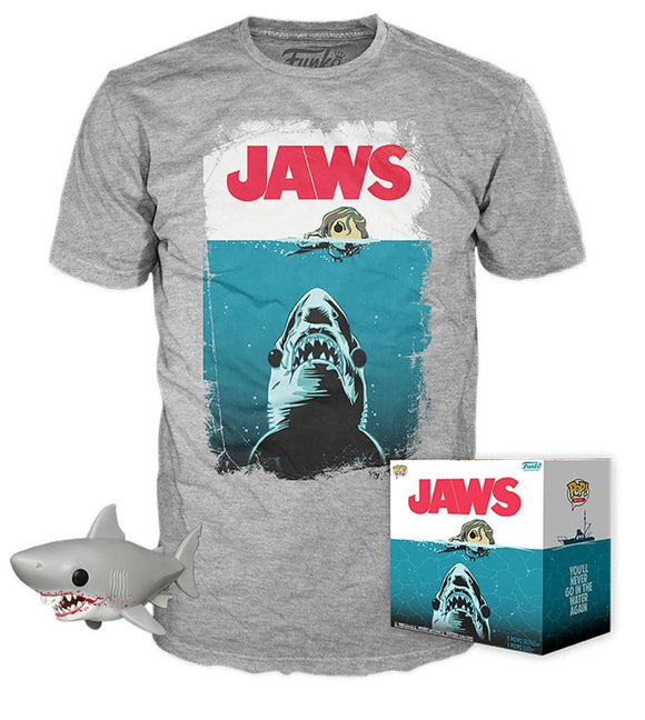 Jaws Funko Pop and T Shirt Set