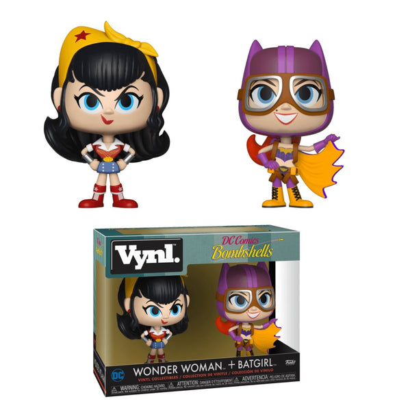 Wonder Woman and Batgirl Funko VYNL Figures