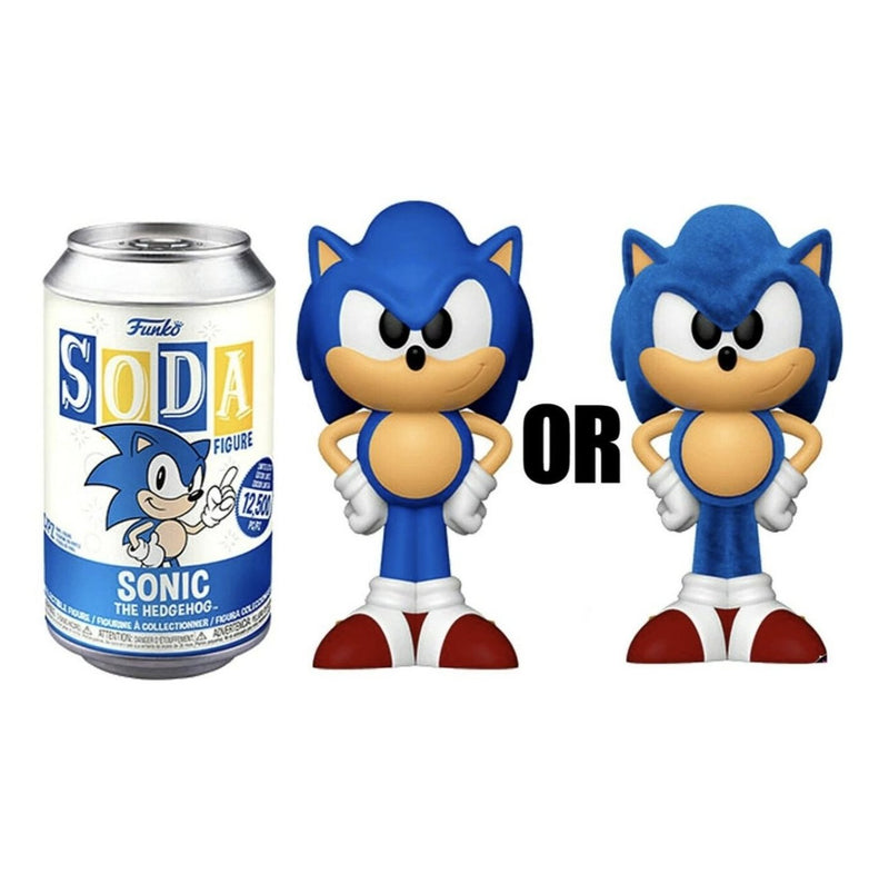 Sonic The Hedgehog Funko Soda Figure