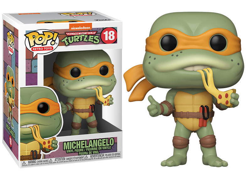 Michelangelo Turtles Funko Pop