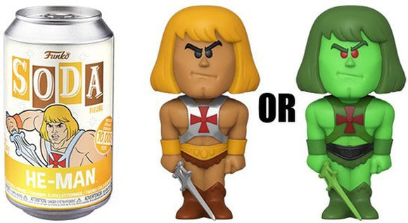 Funko Soda Can Figure He Man