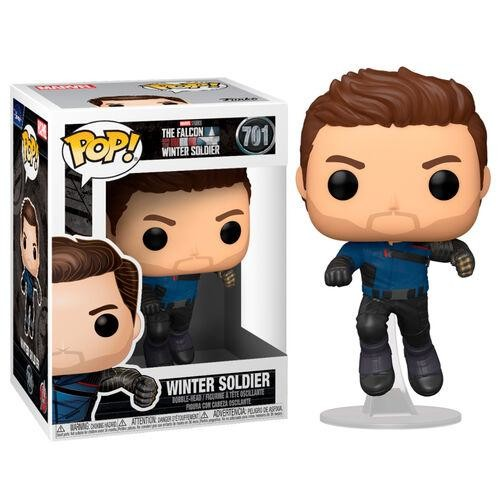 Winter Soldier funko pop from Falcon and the winter soldier