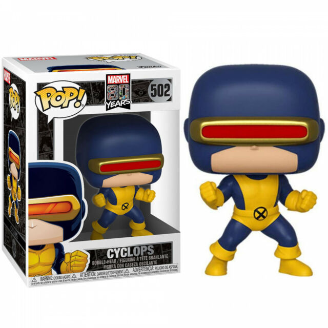 Cyclops Marvel 80th Anniversary Funko pop