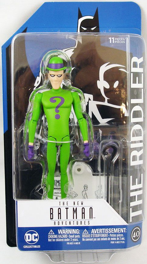 Riddler Action Figure from The New Batman Adventures