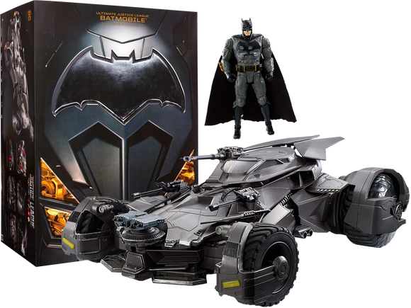 Justice league Batmobile by Mattell RC controlled