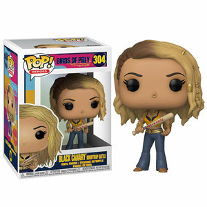 Birds Of Prey Funko Black Canary Booby Trap