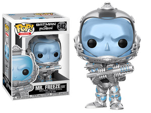 Mr Freeze From Batman and Robin Funko Pop Number 342