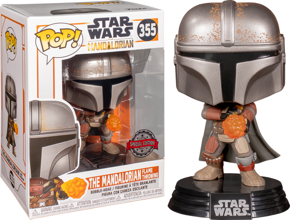 The Mandalorian 355 Funko Pop Special Edition
