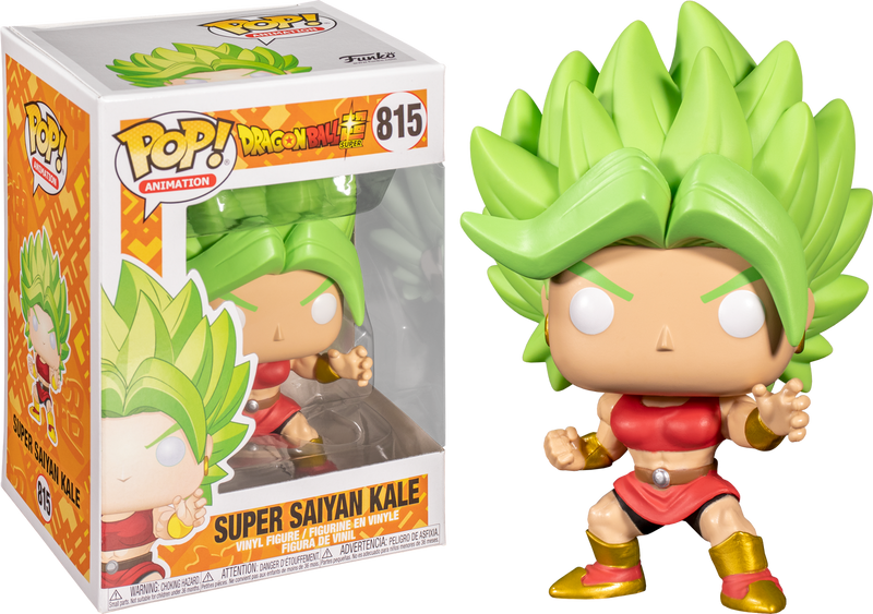 Super Saiyan Kale Dragonball Z funko pop no 815