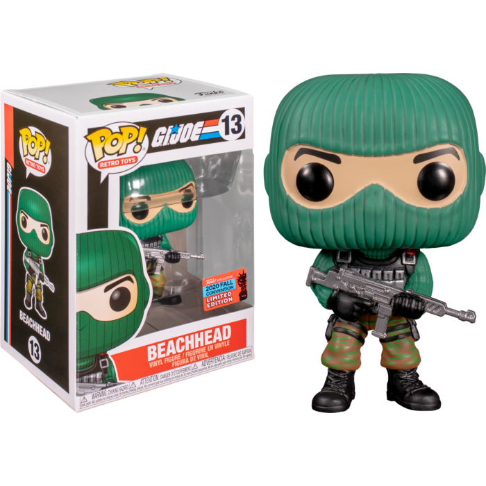 GI Joe BeachHead Convention Exclusive funko pop