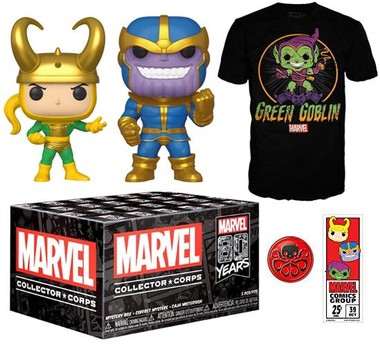 Marvel 80th Anniversary Collector Corps Box