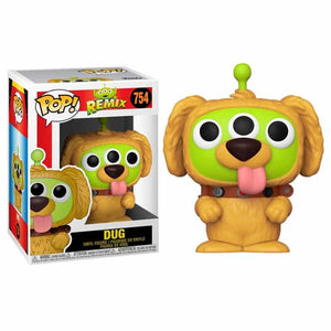 Alien Remix Dug Funko Pop pixar