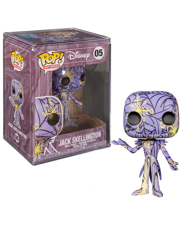 Jack Skellington Art Series in Hard Stack Funko Pop